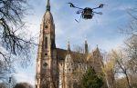 """A templom a drónok """"szemével"""""""
