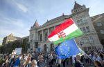 Kormányellenes demonstráció Budapesten