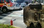 Kettős baleset a Gergely utcában