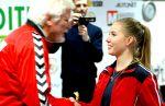 Címlapon: Jezsoviczki Anna teke világbajnok U18, Rokycany, (CZE)